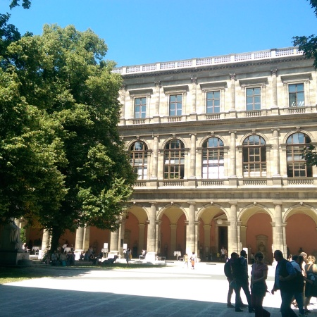 University of Vienna inner courtyard
